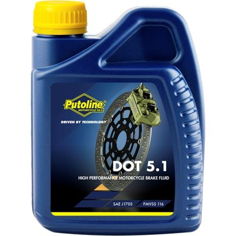 PUTOLINE Brakefluid DOT 5.1 500ml P74043