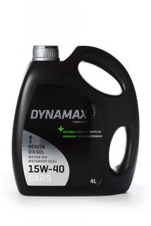 DYNAMAX TURBO PLUS 15W-40 4L